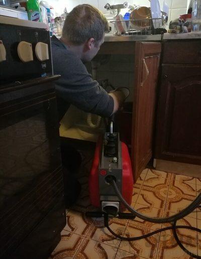 Lefolyótisztítás a konyhában